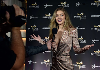 Gigi Hadid – Сelebration of her 21st birthday in Las Vegas