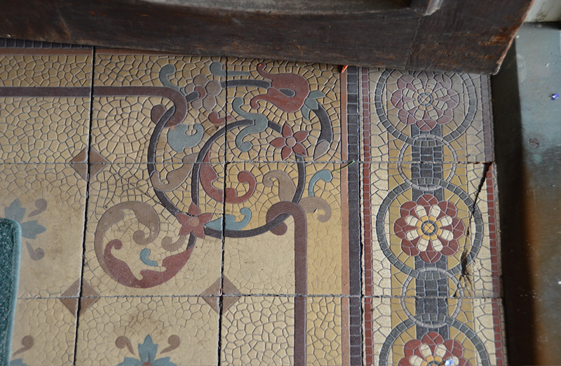 Architectural Tiles Glass And Ornamentation In New York