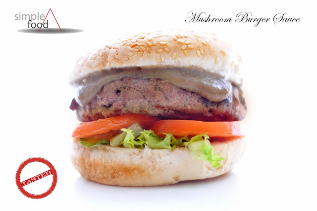 Mushroom Burger Sauce ~ Simple Food