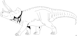 malvorlagen dinosaurier triceratops | x - claudia schiffer