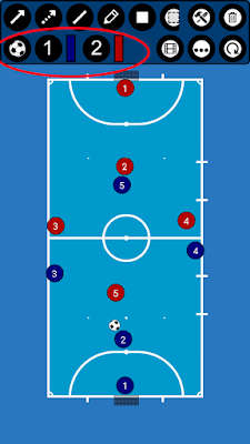 Gambar Formasi Futsal : gambar, formasi, futsal, Membuat, Formasi, Strategi, Futsal, Android, Albar, Blog's