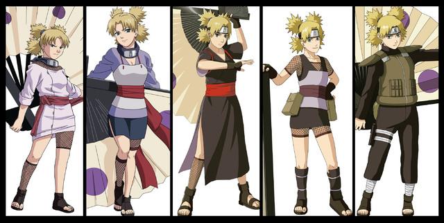 Naruto Karakter - Kumpulan Foto Temari dan Fakta Temari