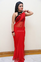 Aasma Syed in Red Saree Sleeveless Black Choli Spicy Pics ~  Exclusive Celebrities Galleries 055.jpg