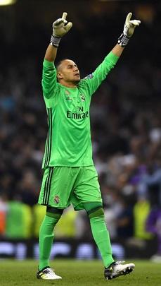 Keylor Navas Real Madrid 2017