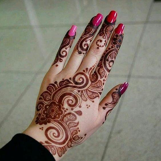20 Latest Mehndi Designs For Eid 2017 Easy Henna Eid Designs For