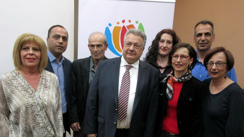 Οι πρώτοι υποψήφιοι με τον Κώστα Κατσιμίγα στην Π.Ε. Δράμας