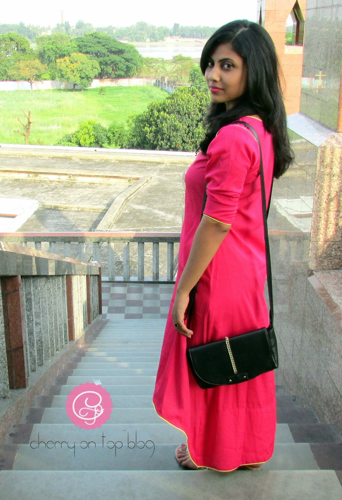 Ethnic and Off-beat| OOTD| Fashion| Cherry On Top Blog