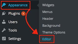 WordPress Website Editor Function