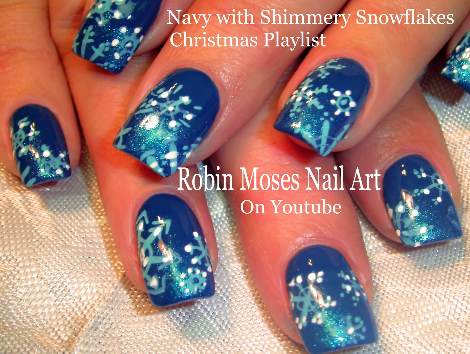 Snowflake Nail Design Cute Nails Snowflakes Different Pretty Art