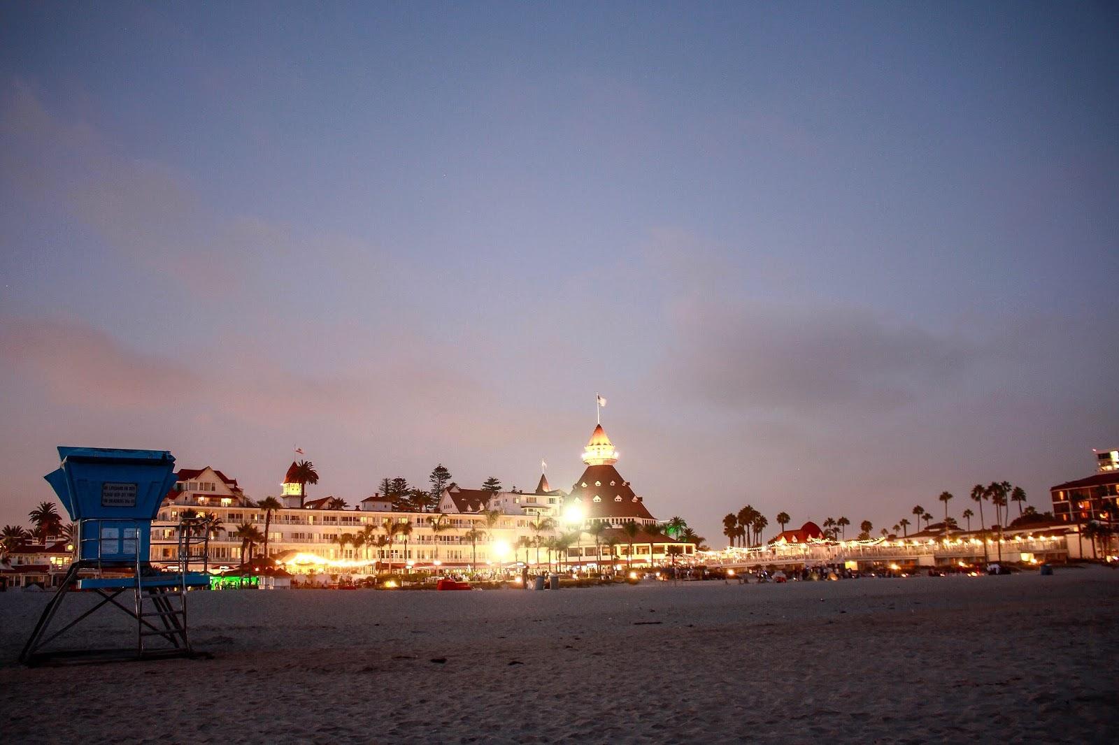 Hotel Del Coronado, San Diego, California, August 2018