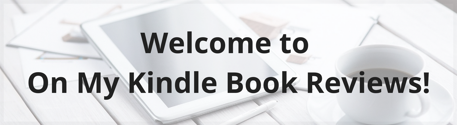 Welcome banner for landing page