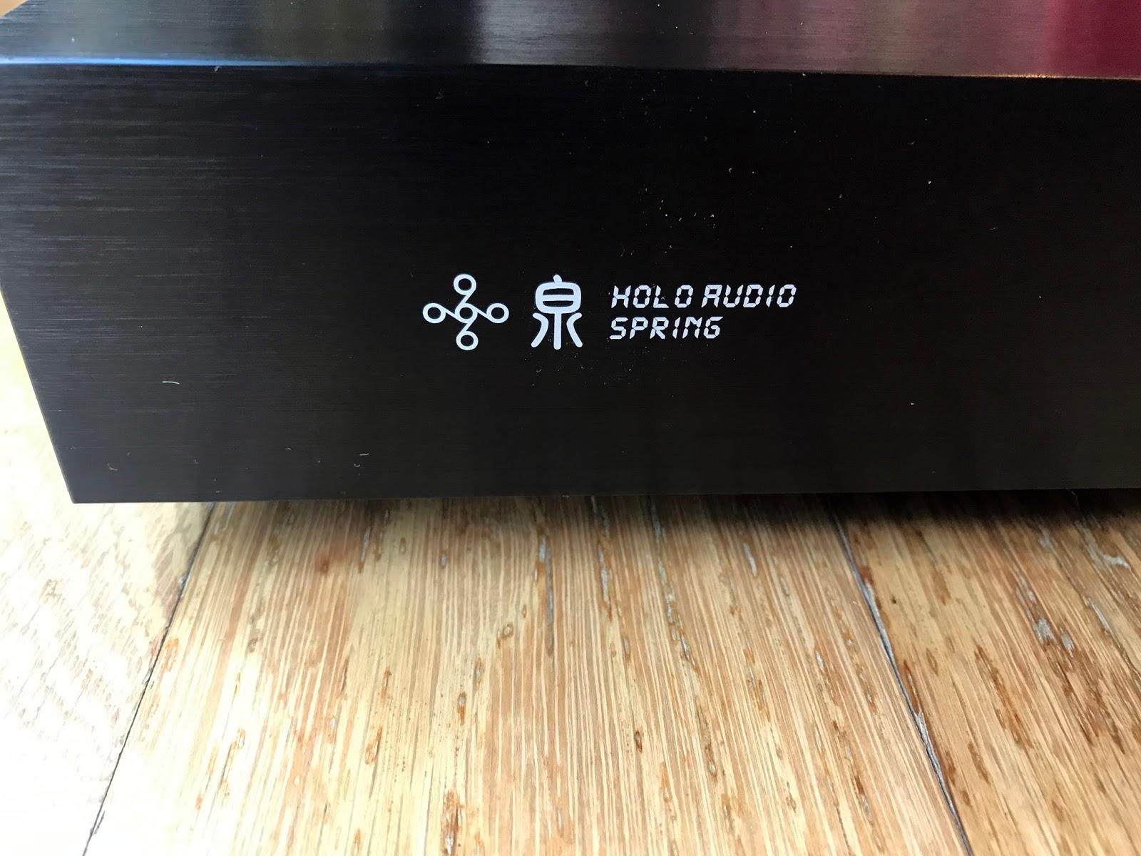 Eric's Hi-Fi Blog: Holo Spring Level 3 DAC - A mini review
