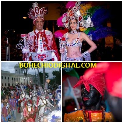 San Juan: Clausuran Carnaval Rey y Reyna periodista Johnny Vazquez y Yismeily Encarnación