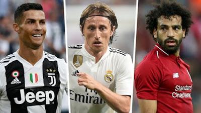 Shocker: Messi misses out as Ronaldo, Modric & Salah gets nominated for FIFA The Best Men's Pla