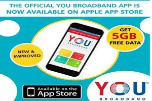 Free 5GB data usage on mobile intall