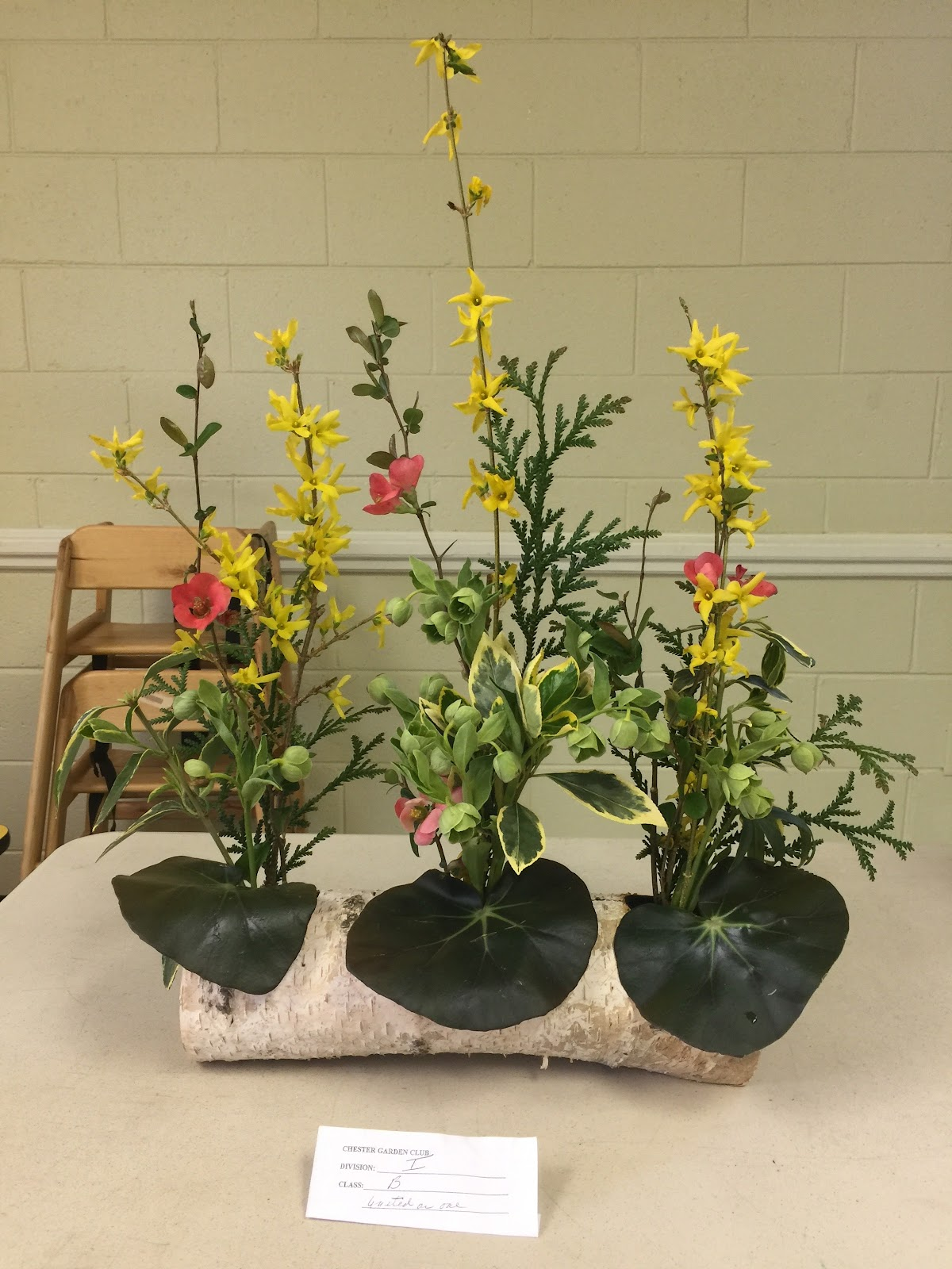 New Garden Club Journal: Stabile and Synergistic Designs on
