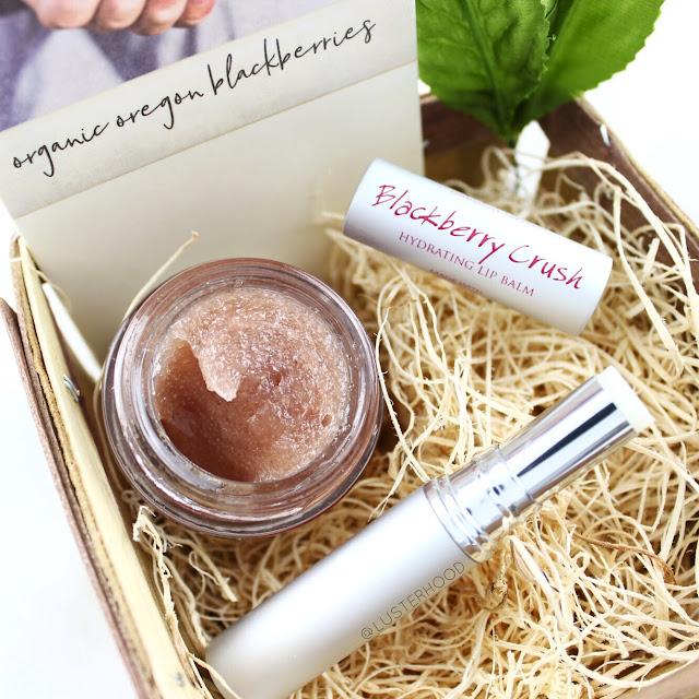 Farmhouse Fresh Blackberry Lip Gift Basket  |  Lusterhood