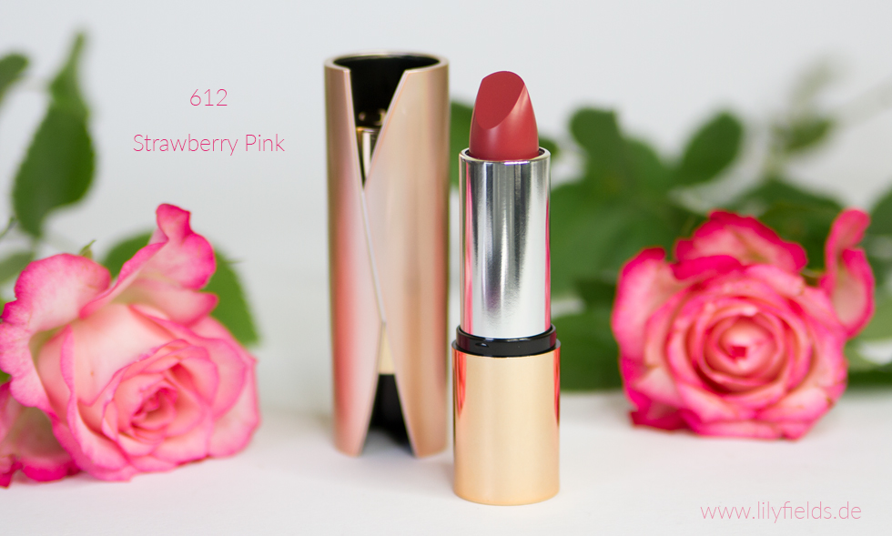 Velvet Mat - Satin Lippenstift '612 Strawberry Pink'