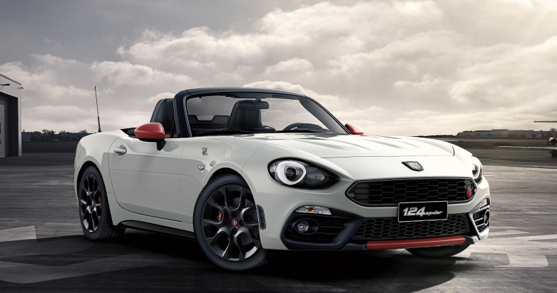 abarth 124 spider 2018 couleurs colors. Black Bedroom Furniture Sets. Home Design Ideas