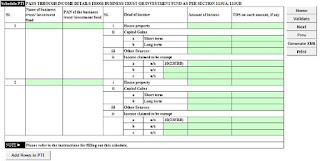 Itr return 5,income tax return form 5,income tax return online form5,how to fill up itr return online,computation of income,self assessment tax,advance tax,income tax,tds,tax deducted at sources,tax collected at sources,tcs,income from house property,rent income,depreciation,depreciation rate,capital gain,short term capital gain,log term capial gain,other income souces income,Black Money,declare black money,Depreciation,80,under section 80,80-G,Deduction of Donation,