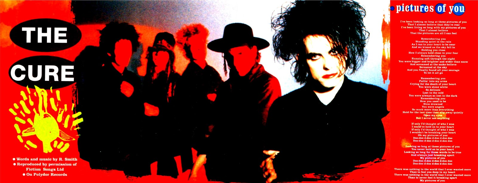 the cure pictures of you - 1600×613