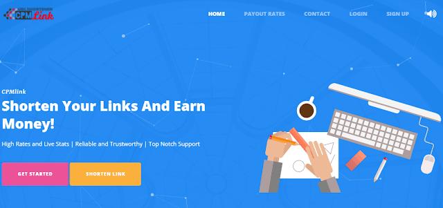 Cpmlink url link shortner
