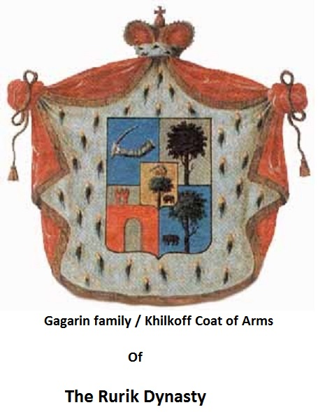 Gagarin family / Khilkoff Coat of Arms