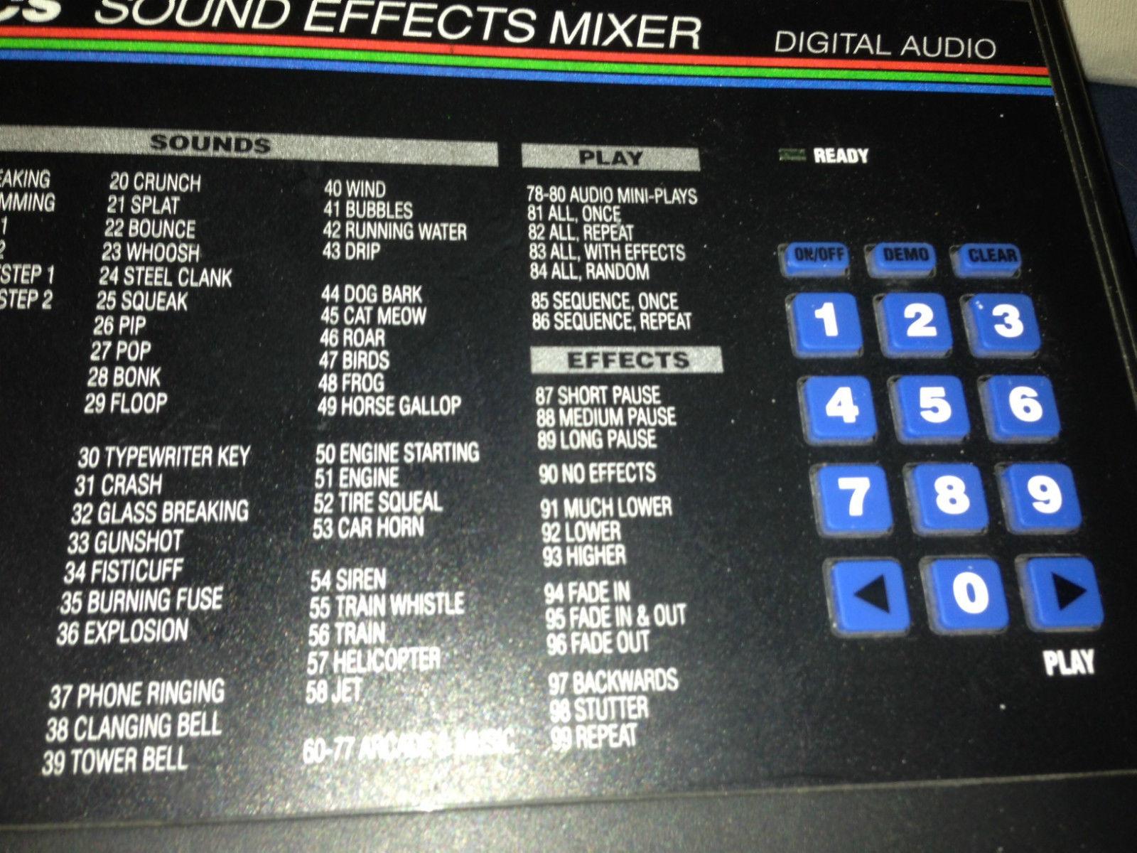 MATRIXSYNTH: Videonics Sound Effects Mixer