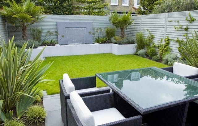 The Garden Design Minimalist Backyard