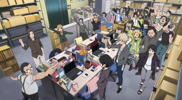 Anime P.A.Works Terbaik - Shirobako