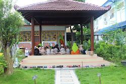 Bank Sampah SMAN 1 Bojonegoro Dapat Kunjungan Play Group Plus Darussalam Bojonegoro