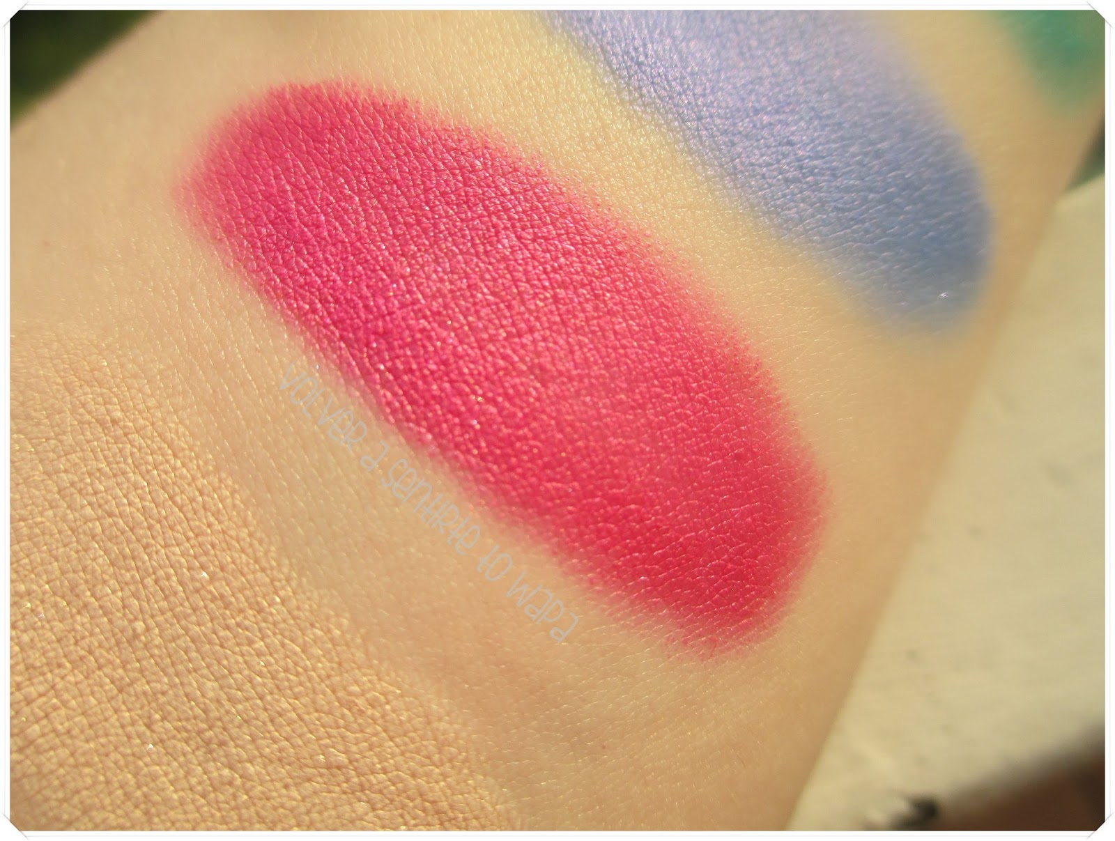 LONG LASTING de KIKO {Review & Swatches} - 30 Shiny Fuchsia
