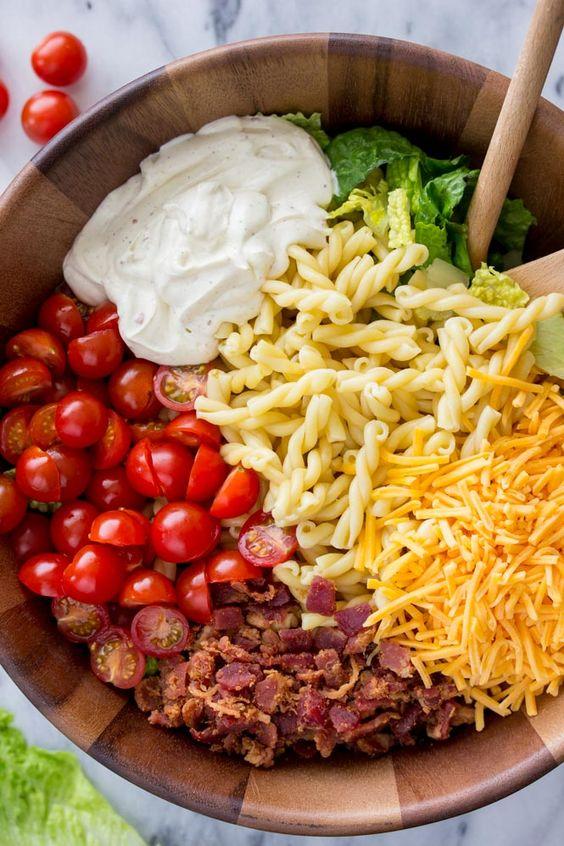 15-Mіnutе BLT Pаѕtа Salad