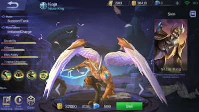 Begini tips memakai Hero Kaja Mobile Legends