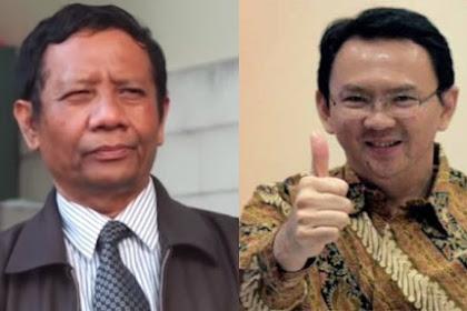 Pilih KH. Ma'ruf Amin, Jokowi Menyakiti Pendukung Ahok Dan Mahfud MD