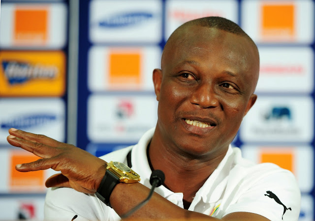 Kwesi Appiah, two expats in 3-man shortlist for Black Stars job