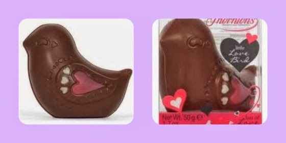 Thornton's valentines day chocolate