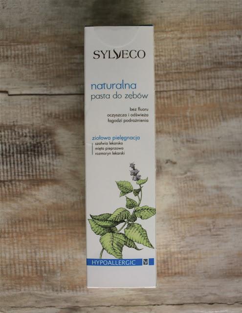 Naturalna pasta do zębów z Sylveco