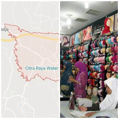Toko Jilbab di Cikupa Tanggerang