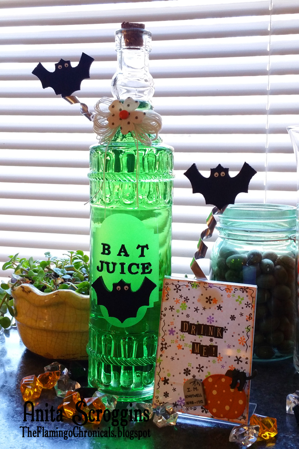 Bat Juice Potion Jar