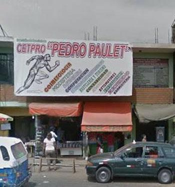 CETPRO PEDRO PAULET - San Juan de Miraflores