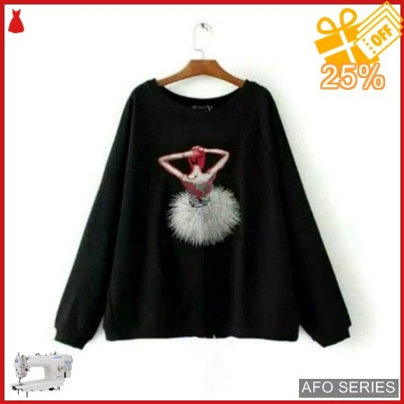 AFO444 Model Fashion Sweater Balet Modis Murah BMGShop