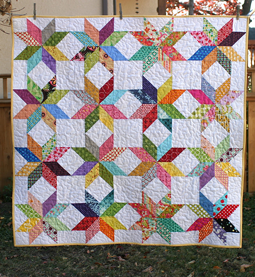 Star Flower Quilt Free Tutorial