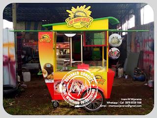 produksi gerobak es durian bandung