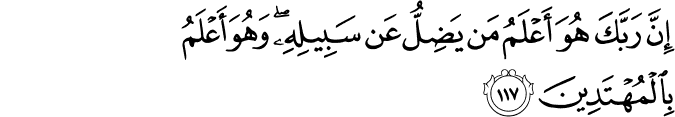 Surat Al-An'am Ayat 117