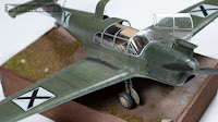 Messerschmitt BF-108 Eduard 1/48 plastic scale model Bulgarian Air  Force