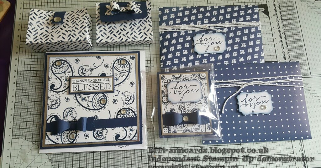 Effi Ann Cards Beautifully Coordinated Goodies Made For A