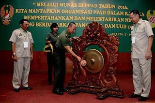 Purnawirawan TNI AD Kumpul Bahas Potensi Konflik Sosial