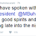 True Or False: See What Bukola Saraki said About Him Speaking With The President