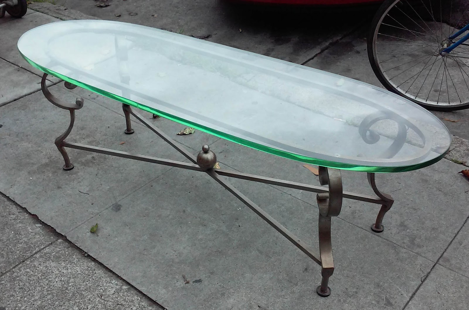 UHURU FURNITURE & COLLECTIBLES: SOLD Thin Coffee Table ...
